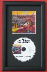 JIMI HENDRIX THE JIMI HENDRIX EXPERIENCE - ELECTRIC LADYLAND CD Disc MEMORABILIA presentation